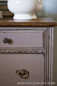 I love this 2 tone dresser makeover by Angie at Postcards from the Ridge