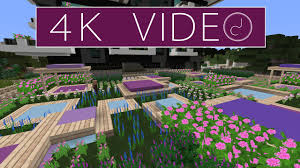 Garden Design Video Roof Top Garden Design 8 Minecraft Timelapse 4k