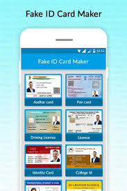 fake id card generator 1 0 screenshot 1