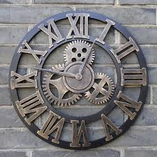 clocks excellent large outdoor wall clock outdoor clocks black iron round clock og clock