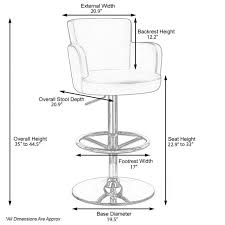 stool stirring bar dimensions photo design mesmerizing table and chair size cau adjule height swivel with