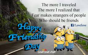 The More I Traveled Happy Friendship Day Images