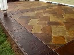 stained concrete patio. Brilliant Patio Amazingly Real Stamped And Acid Stained Concrete Patio In Stained Concrete Patio