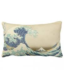 zazzle the great wave off s of kanagawa pillow 13