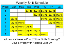 12 Hour Shift Schedule Template Excel - April.onthemarch.co