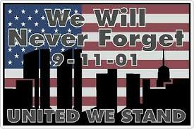 9-11 Tribute Vinyl Decal Never Forget September 11th Sticker Car & Truck  Decals & Stickers Auto Parts & Accessories