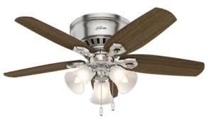 ceiling fans without lights remote control. Low Profile Ceiling Fans \u2013 Hugger \u0026 Flush Mount   Hunter Fan Ceiling Fans Without Lights Remote Control D