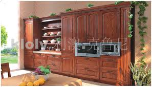 Sicilia Solid Wood Kitchen Cabinets With Ash Wood Doors Guangzhou