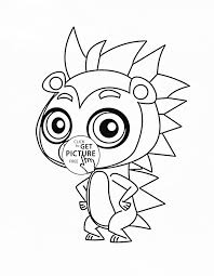 Littlest Pet Shop Coloring Pages Free Luxury Cutest Coloring Pages