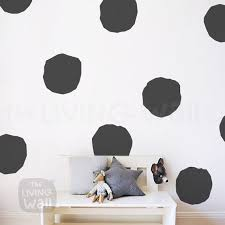 big polka dots nursery wall decal gold polka dot extra large gold polka dots wall stickers baby room hand drawn polka dots nursery