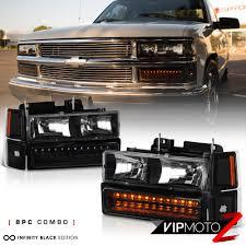 All Chevy 95 chevy headlights : 94 95 96 97 98 Chevy Suburban Tahoe 1500 2500 Smoke Cab Brake Lamp ...