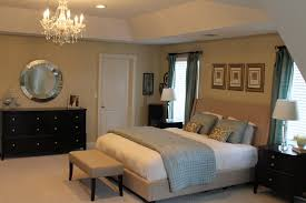 Transitional Bedroom Design Luxury Master Forter Sets