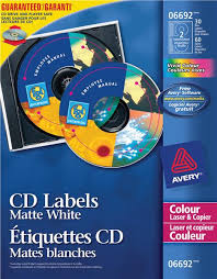 Avery Cd Labels Eway Ca Product Catalogue Ave06692