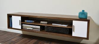 Wall Mounted Media Console Cabinet Mid Century In Architecture 13