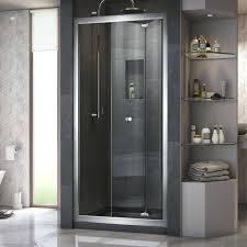folding glass shower door erfly x folding shower door ravenna 26 bi folding glass shower doors