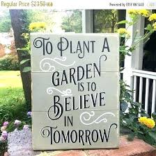 garden signs ideas vegetable wood gifts best on funny housewarming wooden diy