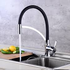 All Copper Kitchen Sink Faucet 360 Rotation One Hole Basin Mixer