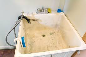 Utility Sink Backsplash Simple Laundry Room Makeover Day 48 Utility Sink Gets Some Love The