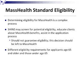 Masshealth Eligibility Income Chart Day 6 7 Public Benefits Ppt Download
