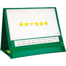 Write On Wipe Off Magnetic Demonstration Tabletop Pocket Chart