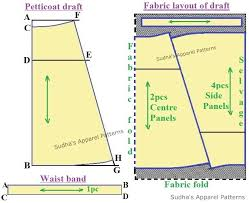 Sudhas Apparel Patterns How To Make Simple Saree Petticoat