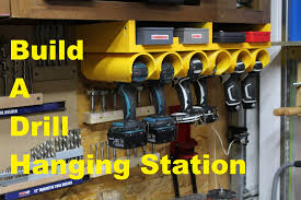 Hanging Charging Station Drill Driver Hanging Station Youtube