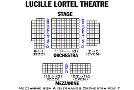 Lucille Lortel Theatre Seating Chart Theatre In New York