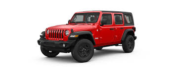 Exterior And Hard And Soft Top 2018 Jeep Wrangler Color Options