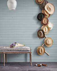 wall mounted zip zag hat rack diy