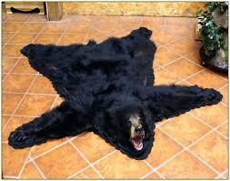 fake bear rug bearskin rug fake bear skin rug bearskin rug fake polar bear rug