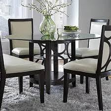najarian furniture company planet glass round dining table dining tables round loading