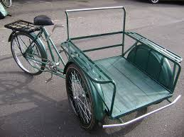 Pedicab Sidecar Design Front Load Cargo Trike We Use And Sell These In Our Downto