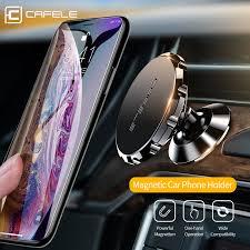Cafele <b>Magnetic Car</b> Phone Holder 360 Degree Rotation <b>Aluminum</b> ...