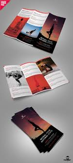 Architecture Brochure Template Architecture Brochure Templates Free Download Best Yoga Trifold 9