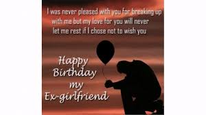 30 Happy Birthday Ex Girlfriend Quotes Wishesgreeting