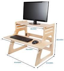 285 best stand up desk images on desks offices and regarding diy sit to riser remodel 4