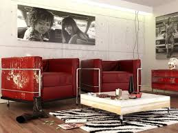 red room with black furniture. wellselected color schemes for living rooms red black white contemporary room inspiration with furniture
