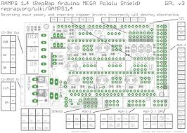 reprap ramps1 4 3d printer circuit connection graph osoyoo com ramps board wiring diagram 1 ramps 1 4 schematic: qq图片20160701112526
