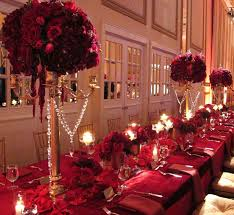 red gold wedding decoration ideas wedding ideas and planner