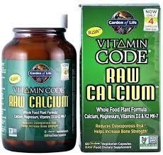 calcium for garden of life