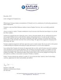 Format Letter Of Recommendation Academic Professors Reference Letter