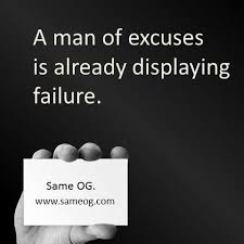 Excuses Quotes Best Quotes About EXCUSES Pictures Photos And Images For Facebook