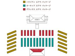 Paradise Cove Seating Chart Paradise Cove Luau Seating Chart 2018 Japanese Paradise