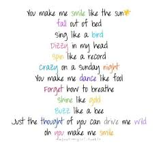 Cute Song Quotes