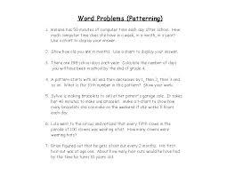 Patterns Worksheet For Kindergarten Math Place Value Worksheets Plac