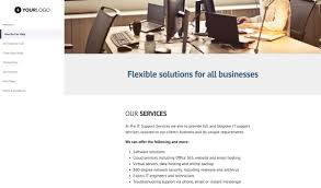 Pricing Templates For Services This Free It Support Services Proposal Template Won 7 2m