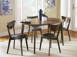 bring out your modern side with this stylish contemporary malone mid century dining table set