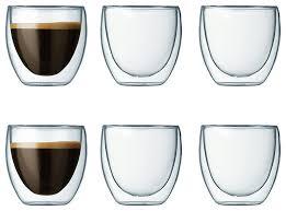bodum pavina double wall glasses 6 piece by bodum 2 reviews
