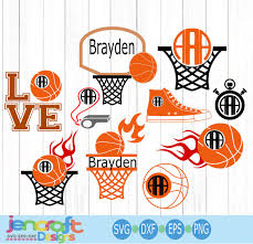 Basketball Svg Designs