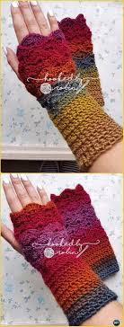 Dragon Scale Fingerless Gloves Pattern Free Awesome Design Ideas